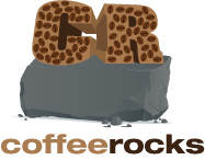 Graphic Logo Design Company | Coffee Rocks