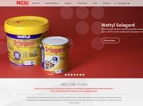 NCI Packaging ecommerce webdesign