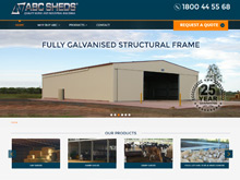 Wordpress WebDesign Australia | ABC Sheds