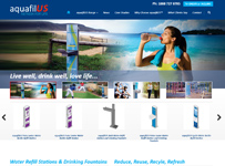 Aquafilus woocommerce webdesign