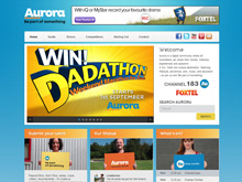 CMS Website Design Sydney | AuroraTV