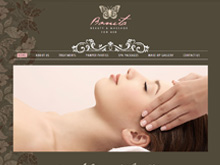 Static Website Design NSW | Bonita Beauty & Massage