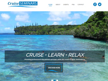 cruise seminars webdesign