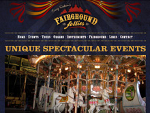 Static Website Design Australia | Fairground Follies