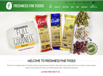 Freshness website design