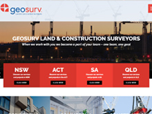 Wordpress Website Design for Geosurv