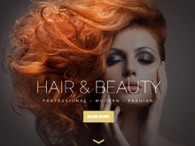 Custom WordPress Design | Hair by Dora & Cassi
