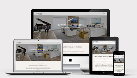 Responsive WordPress Web Design - Aspire Floors