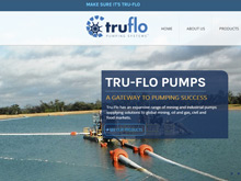 Tru Flo Pumps Website Design